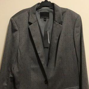 NWT Banana Republic gray blazer new